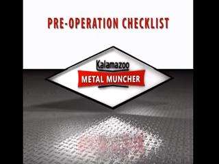 Pre Operations Checklist